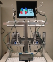 The tool interface with force feedback for the Virtual Basic Laparoscopic Skills Trainer (VBLaST)